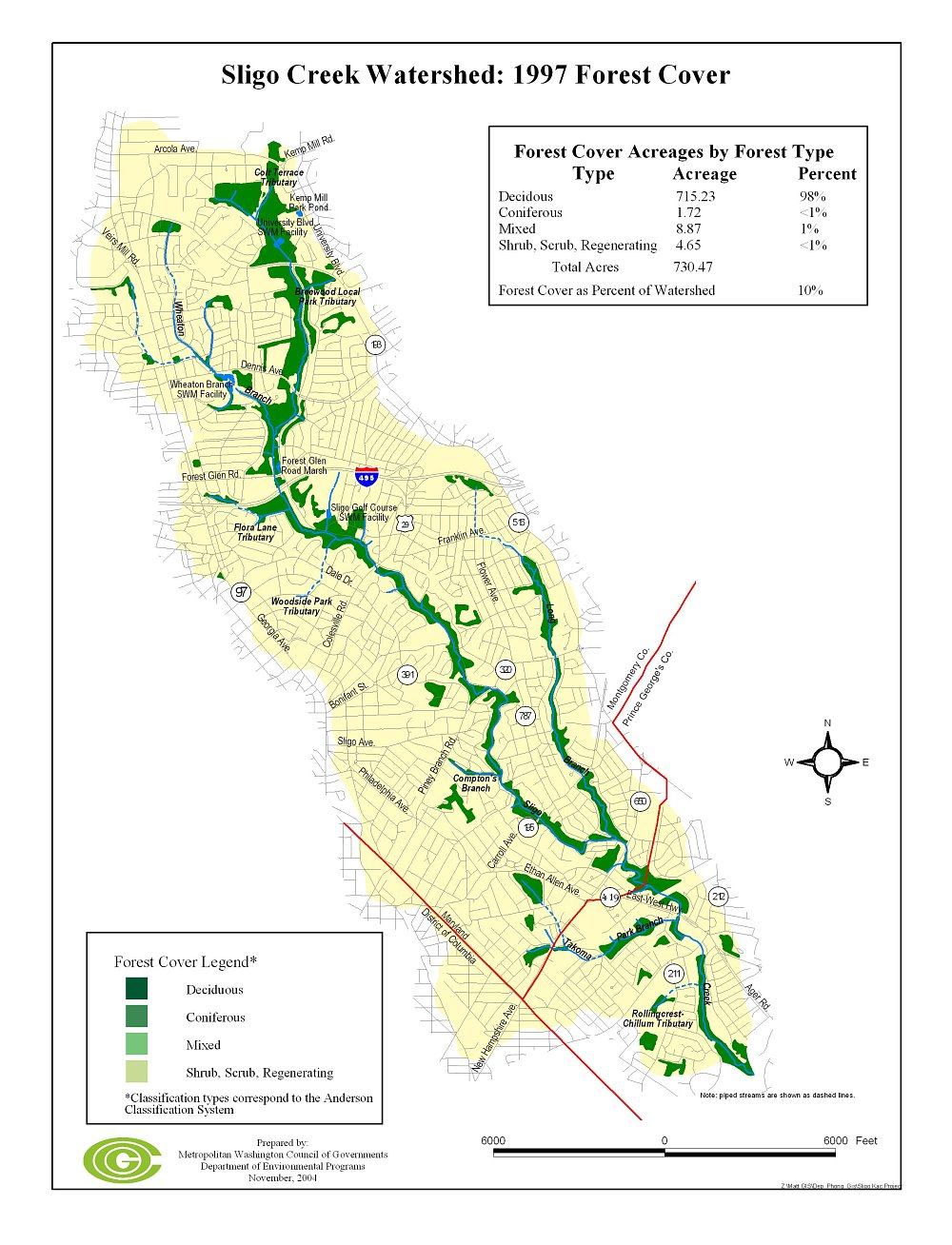 1997 Forest Map
