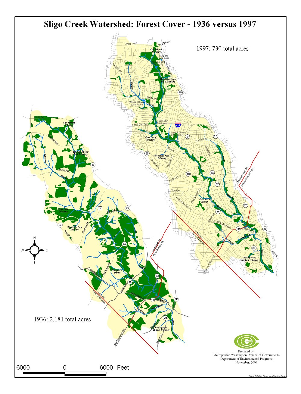 Historical Forest Map
