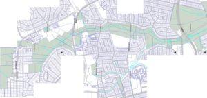Sligo Creek Park Boundaries - North