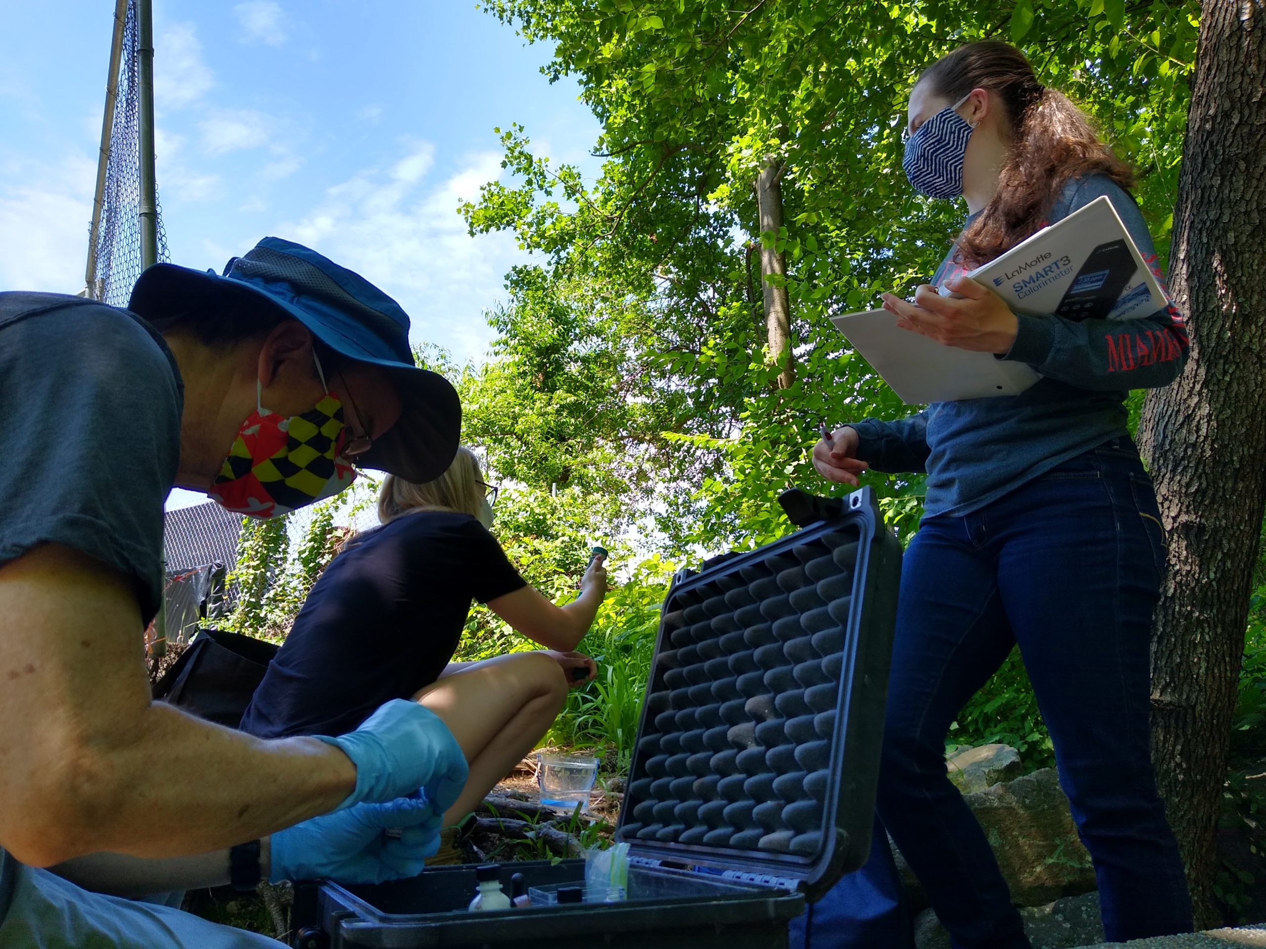 Monitoring water quality with the new colorimeter