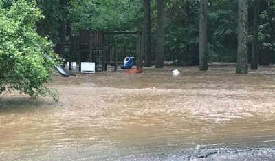 Flooding at Sligo and Kennebec, Summer 2020