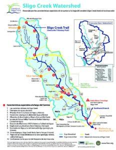 Sligo Creek Trail Special Features Map