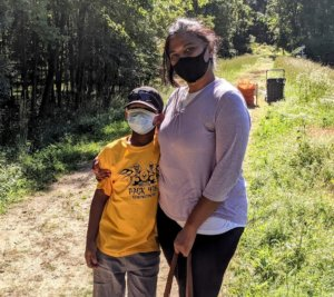 A mother and son team from Pack 478